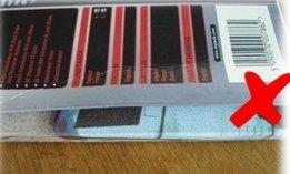 Warped or creased packaging